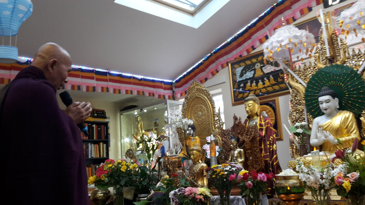 Kyaut Gu Sayadaw Dhamma Talk, (Sunday, 18 of June 2017
